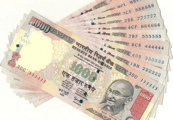 How Printed Currency Enter Into Indian Market