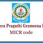 Andhra Pragathi Grameena Bank MICR Code