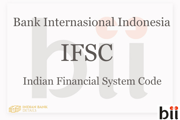 Bank International Indonesia IFSC Code