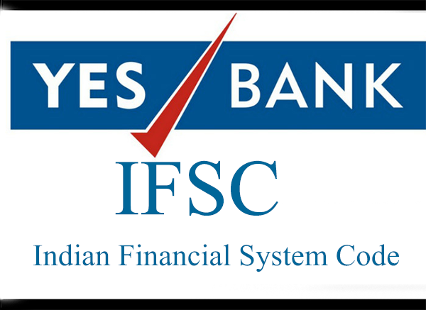 Yes  Bank IFSC code