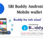SBI Buddy Android App Mobile Wallet