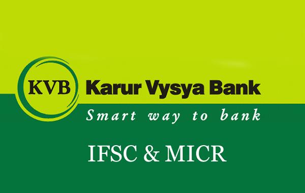 karur vysya bank IFSC code