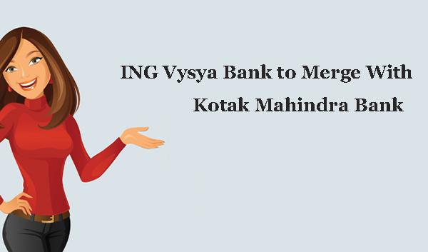 ING Vysya  merge with kotak