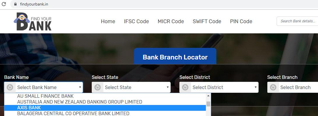 Select Axis Bank