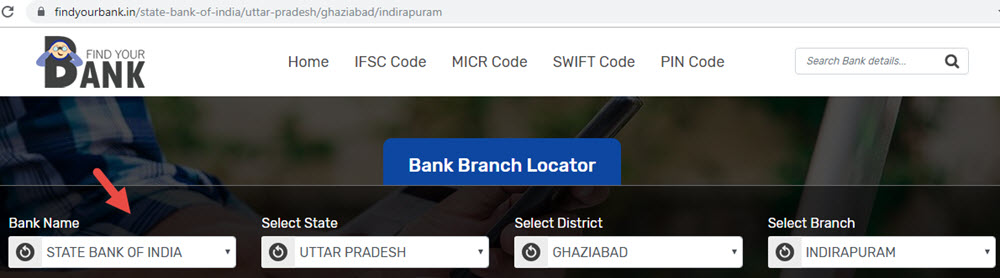 Select State Bank Of India Indirapuram Branch