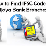 How to Find IFSC code of Vijaya Bank Branches?