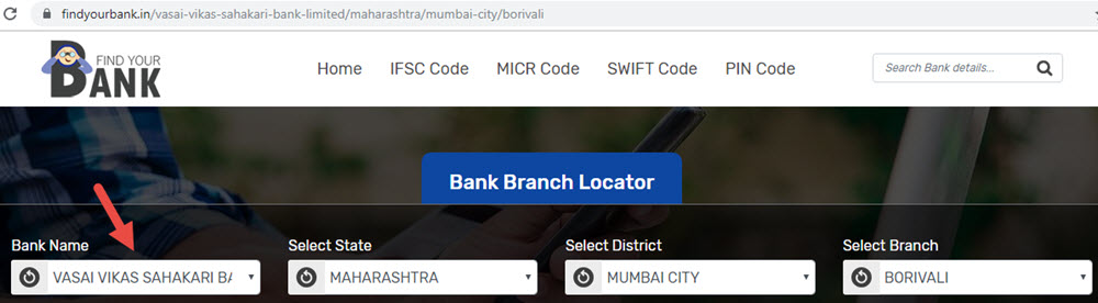 Select Vasai Vikas Sahakari Bank Limited Borivali Branch