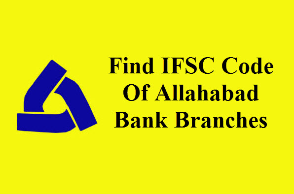 IFSC Code Of Allahabad Bank Branches