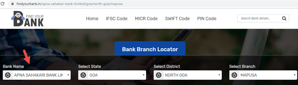 Select Apna Sahakari Bank Limited Mapusa Branch