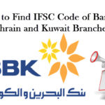 How to Find IFSC Code of Bank of Bahrain and Kuwait Branches?