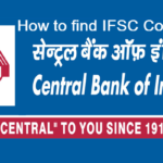 How to Find IFSC Code of Central Bank of India Branches?