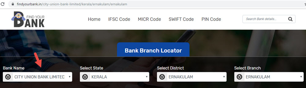 Select City Union Bank Limited Ernakulam Branch