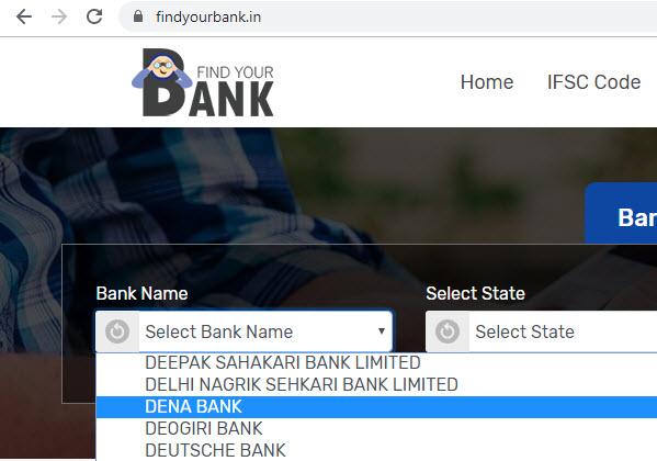 select dena bank