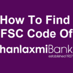 How to find the ifsc code of Dhanlaxmi Bank