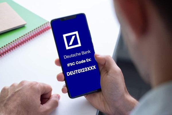 Deutsche Bank IFSC code