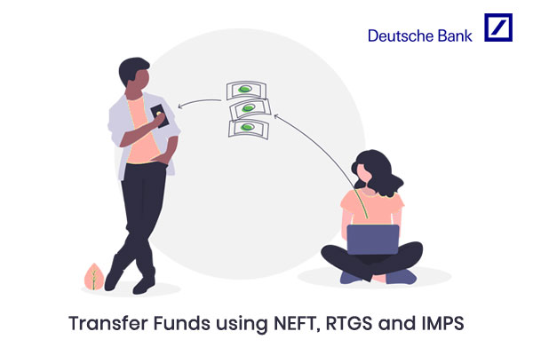 How to Transfer money through the NEFT, RTGS, and IMPS process of Deutsche Bank?