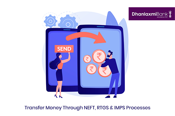How to Transfer Money through Dhanlaxmi Bank NEFT, RTGS, and IMPS Process?