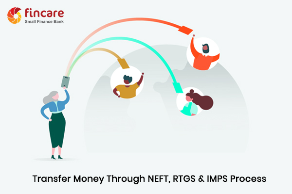 How to Transfer Money through NEFT, RTGS & IMPS Process of Fincare Small Finance Bank?