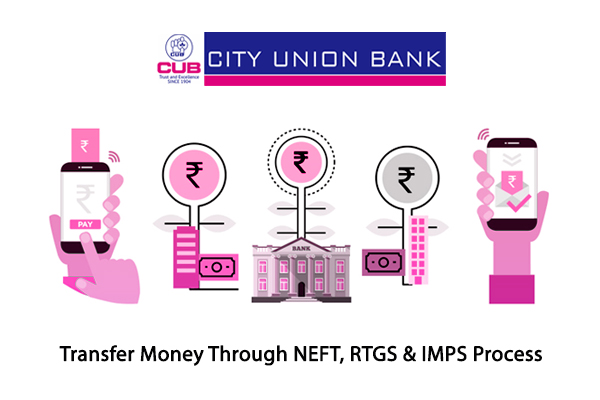 how to transfer money through NEFT, RTGS and IMPS Process?