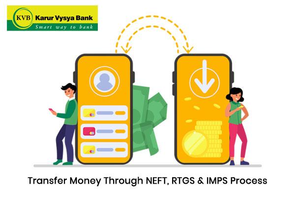 How to Transfer Money through NEFT, RTGS & IMPS Process of Karur Vysya Bank?