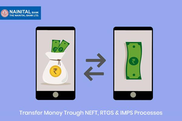 Transfer Money Through Nainital Bank NEFT, RTGS & IMPS Processes
