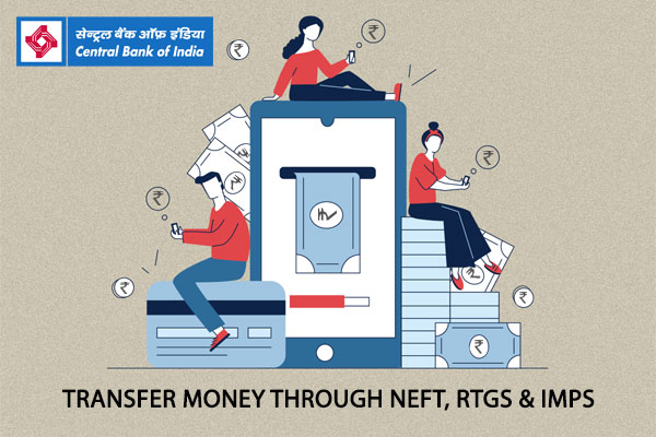 How to Transfer Money through Central Bank of India Bank NEFT, RTGS, IMPS Processes?