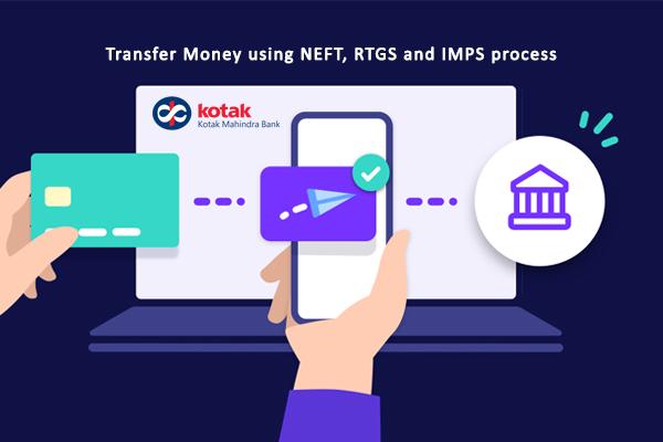 How to Transfer Money Using Kotak Mahindra Bank NEFT, RTGS & IMPS Process?